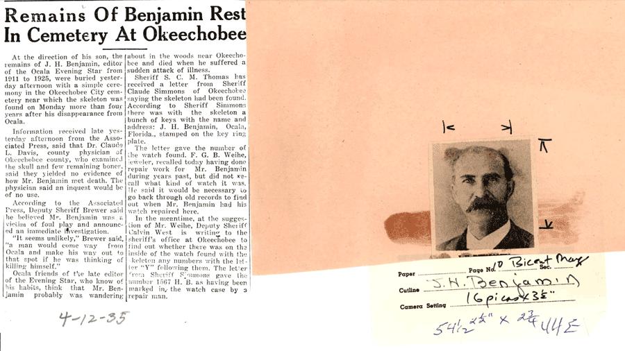 Newspaper scan 3