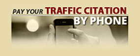Pay citation by phone